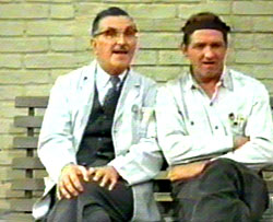 Floyd and Goober in the Andy Griffith Show