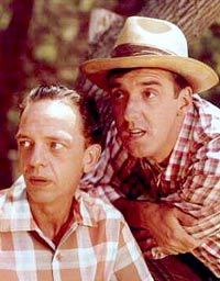 Don Knotts and Jim Nabors in the Andy Griffith Showa