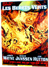 John Wayne Green Berets movie on DVd