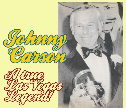 Johnny Carson  : Las Vegas Legend