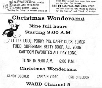 Wonderama Christmas Day show
