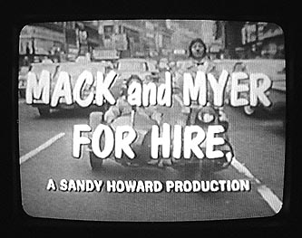 Mickey Deems in Mack & myer for Hire
