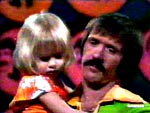 Sonny Bono and Chastity Bono