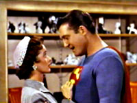 George Reeves and Noel Neill
