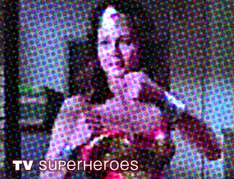 Super Heroes on TV : Wonder Woman, Superman & The Incredible Hulk